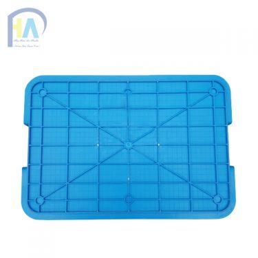 Thùng nhựa đặc B1 chất lượng cao Phú Hòa An có mặt đáy vững chắc