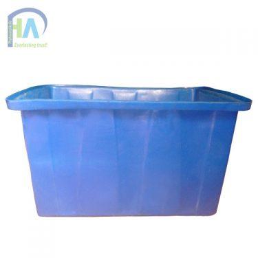 Thùng nhựa chữ nhật 750 lít giao hàng nhanh toàn quốc