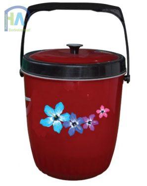 Thùng đá nhựa hoa râm bụt 7 L DDT chất lượng cao, giá rẻ
