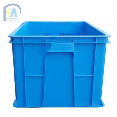 Thùng nhựa đặc B5 phù hợp trong đựng hàng hóa công nghiệp