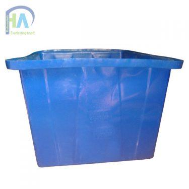 Thùng nhựa chữ nhật 750 lít bền bỉ trong mọi điều kiện thời tiết
