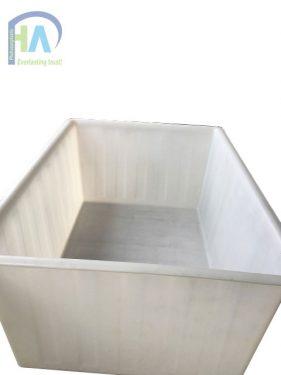 Thùng nhựa chữ nhật 1900 lít cam kết chất lượng vượt trội