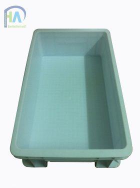 Thùng nhựa đặc B2 bền chắc và tiện dụng