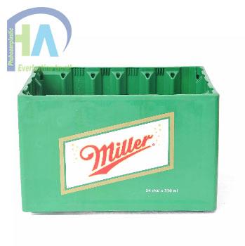 Két bia nhựa Miller cao cấp, giá rẻ nhất toàn quốc