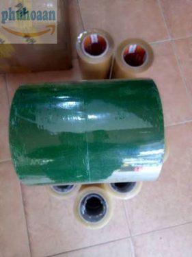 Băng keo lõi nhựa màu xanh lá MS Phú Hòa An phân phối toàn quốc