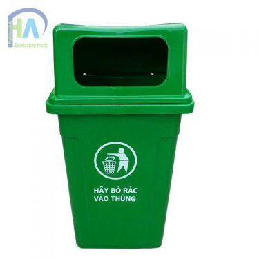 Thùng rác nhựa nắp hở chất lượng vượt trội, giá rẻ