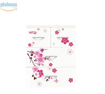 Tủ nhựa Hita họa tiết hoa anh đào HT chỉ có tại Phú Hòa An