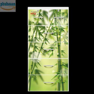 Tủ nhựa Hita họa tiết tre Việt Nam HT cam kết giá bán ưu đãi nhất toàn quốc