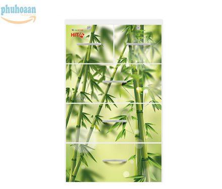 Tủ nhựa Hita họa tiết tre Việt Nam HT giá bán cạnh tranh