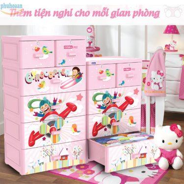 Tủ nhựa Mina 5 ngăn giá bán hấp dẫn