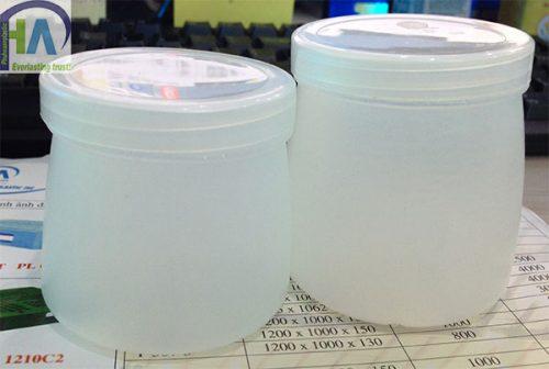 Hộp nhựa làm sữa chua cam kết chất lượng