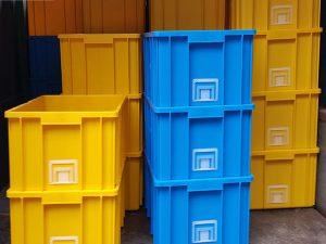 Thùng nhựa công nghiệp thùng nhựa đặc